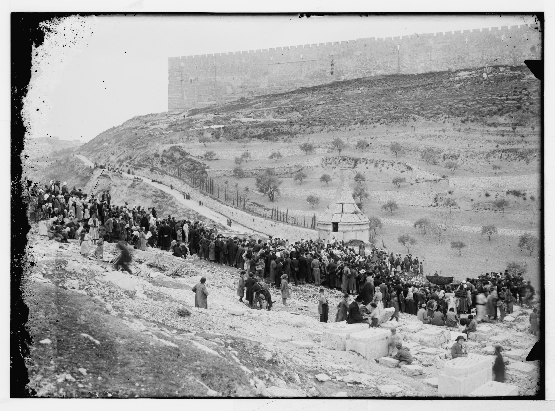 על הר הזיתים בתחילת המאה ה 20