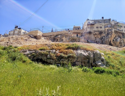 The Geography of the Mount of Olives