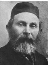 איור 8 :ר' אברהם משה לונץ