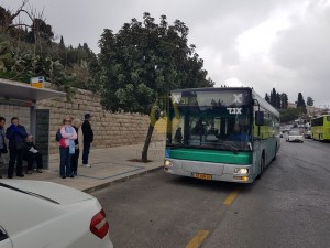 תחבורה ציבורית למרכז מידע הר הזיתים