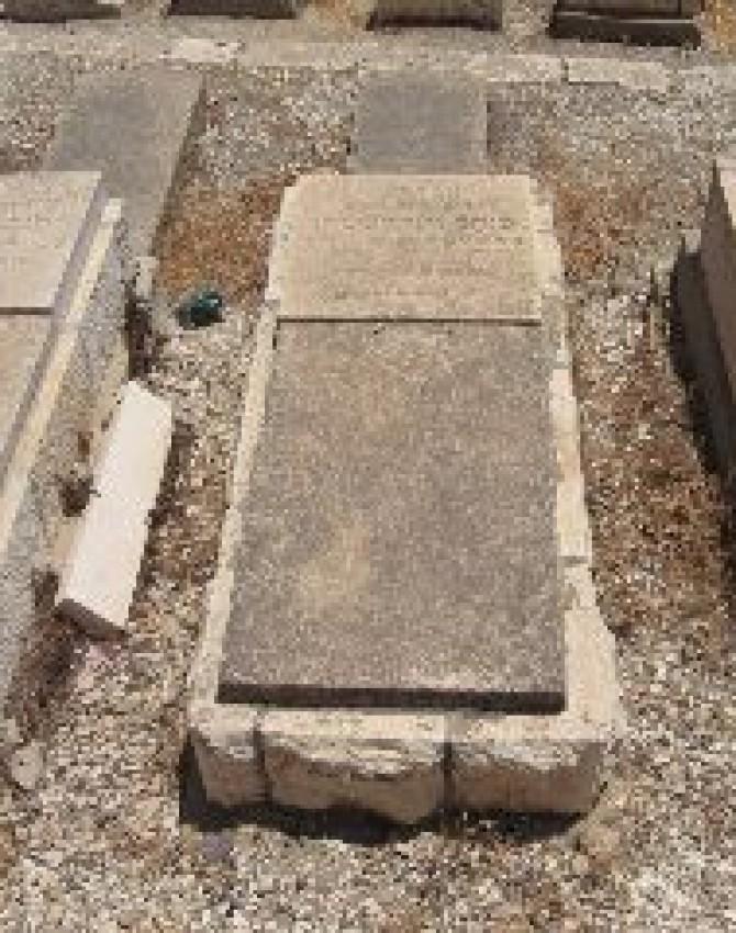 תמונת קבר פנחס וינקלשטיין