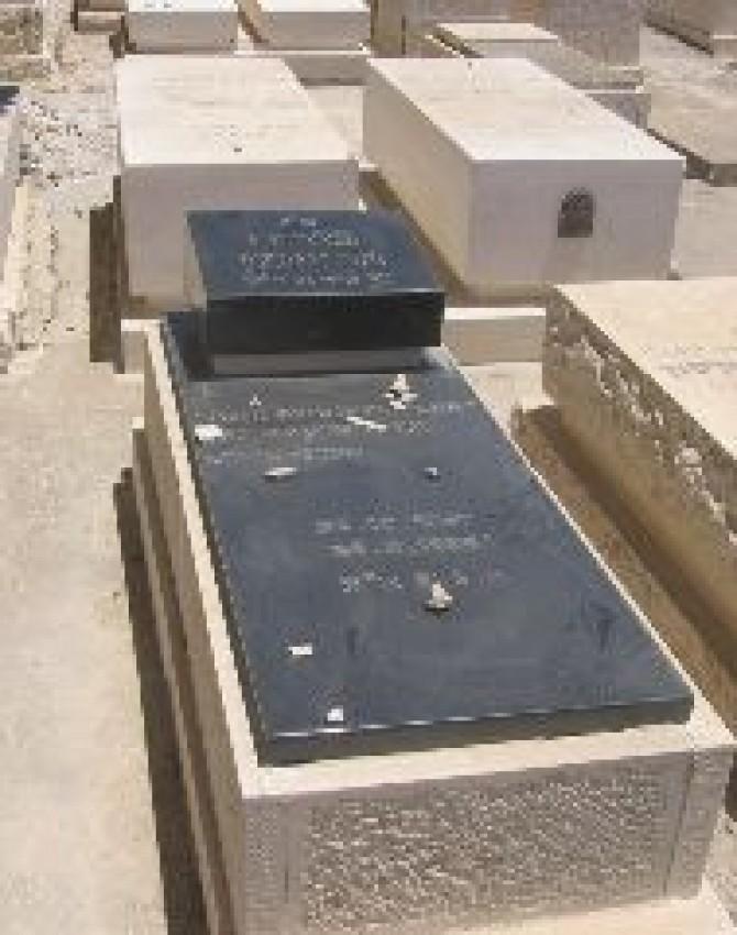 תמונת קבר בוריס מוישזון